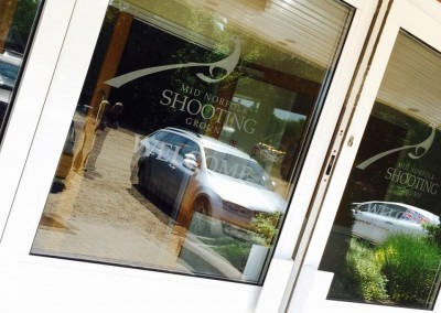 Mid Norfolk Shooting Ground June 2015 Door Decal