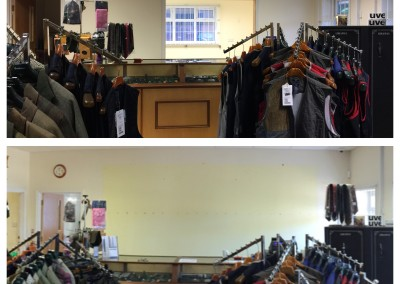 Shop before and after 2