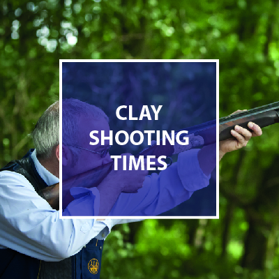 Clay shooting times